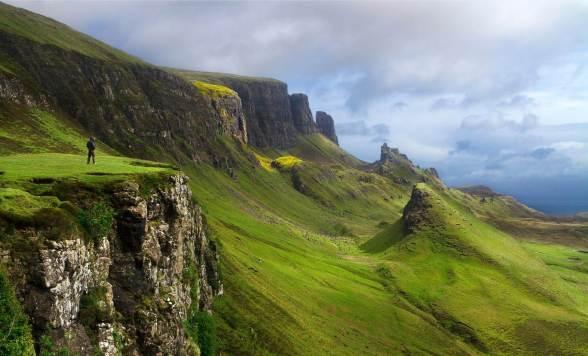 Ecosse-cliff